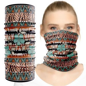 Face Mask Neck Gaiter Tube Custom Full Graphic Dye Sublimation Print