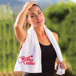 Premium Fitness Towel (Color Towel, Tone on Tone)